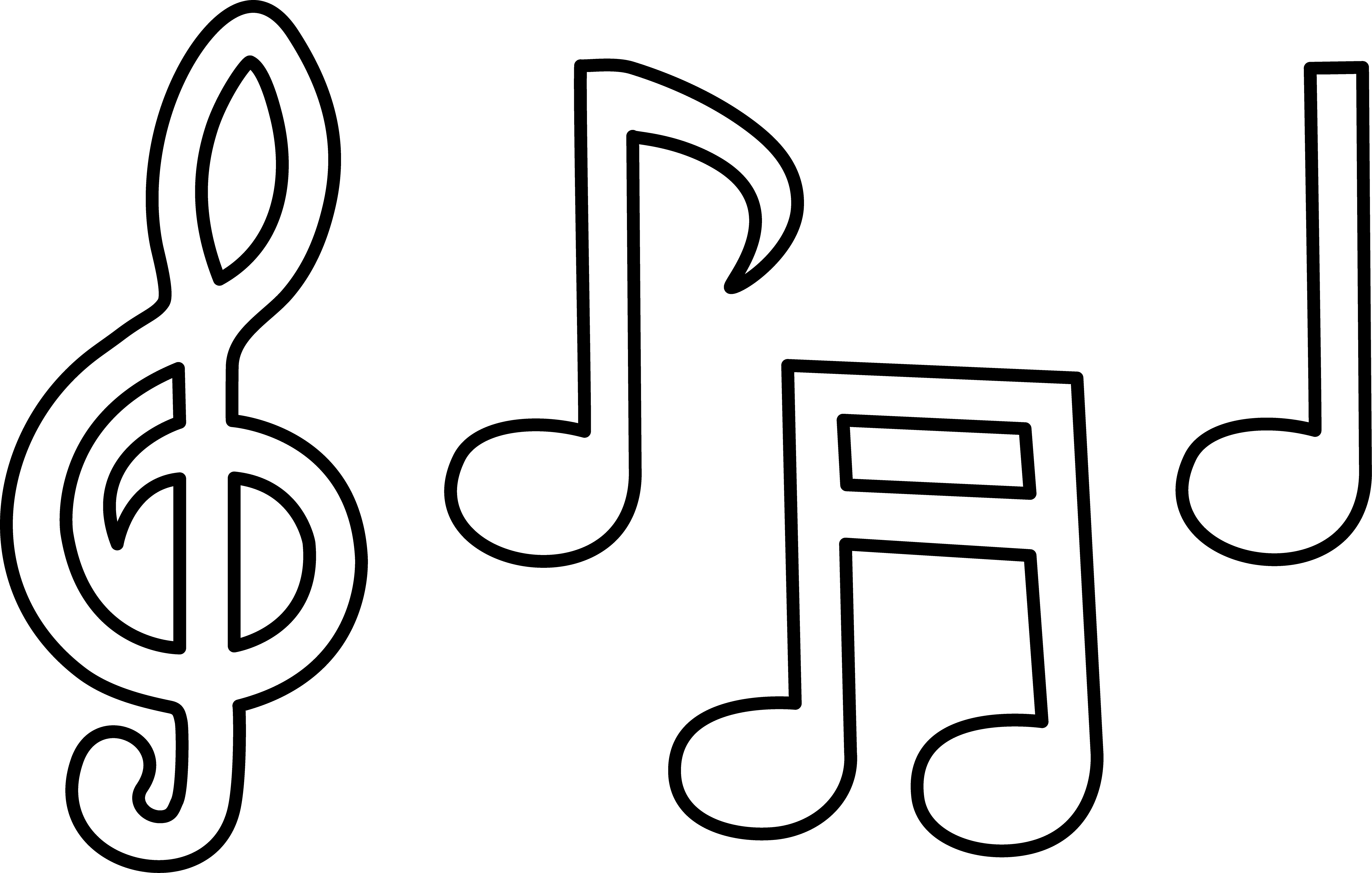 Music Note Drawing