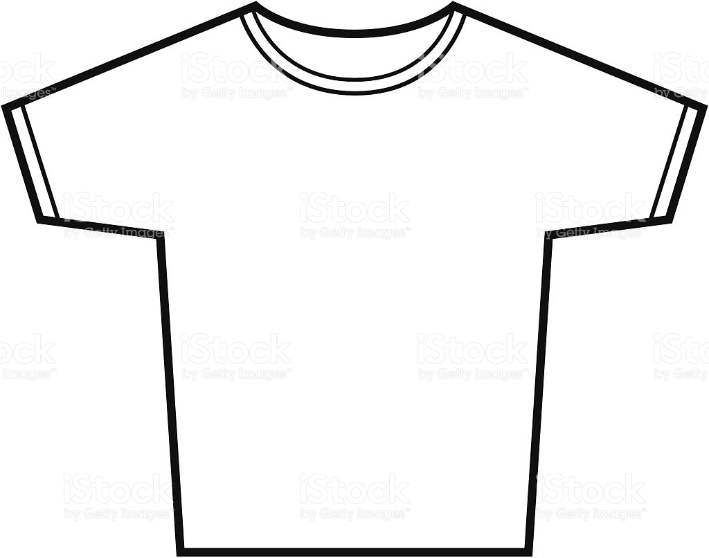 Line Drawing T Shirt : Line drawing shirt clipart best