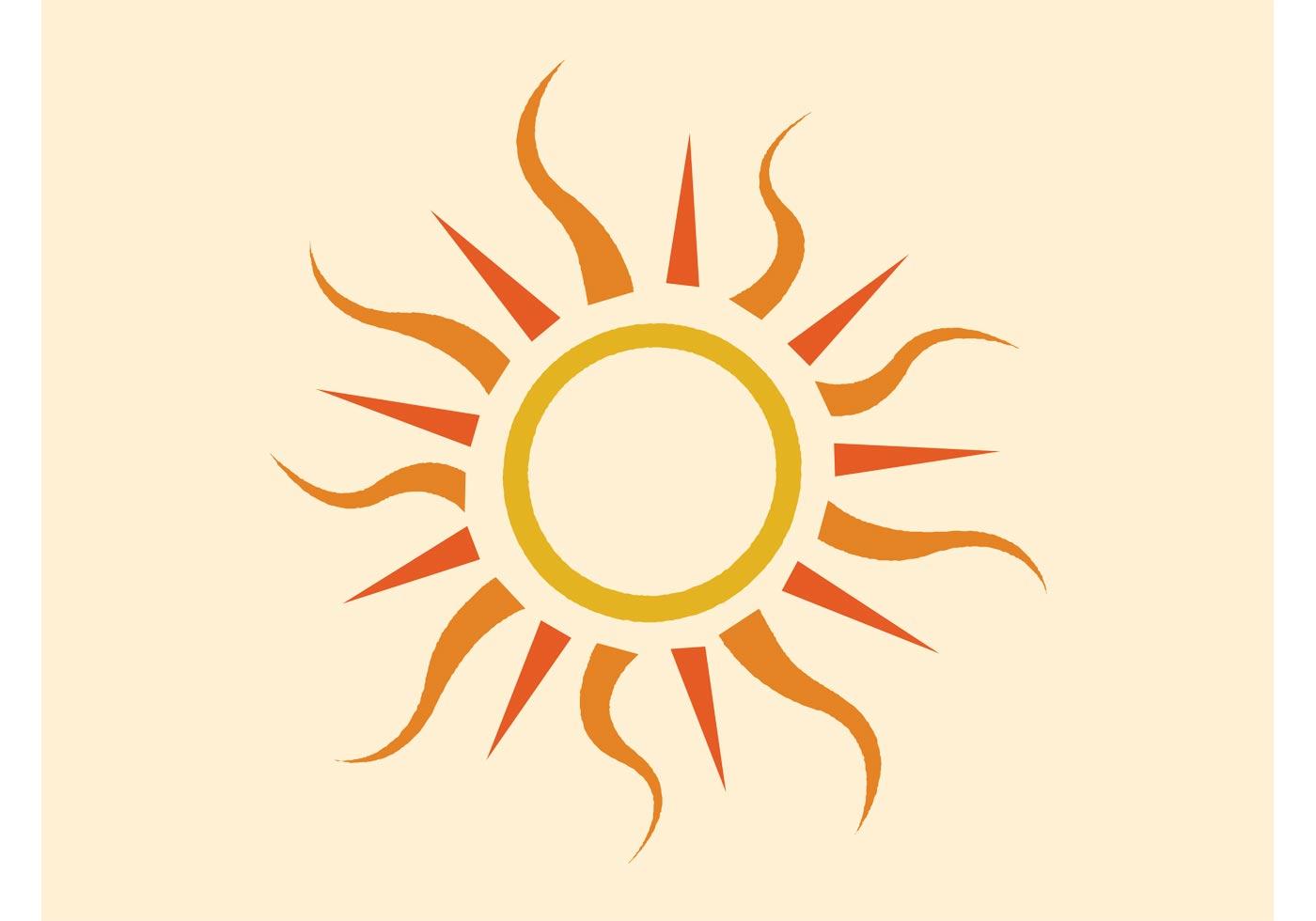 vector sun - photo #7