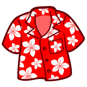 Hawaiin tshirt clip art clipart best for Hawaiian graphic t shirts