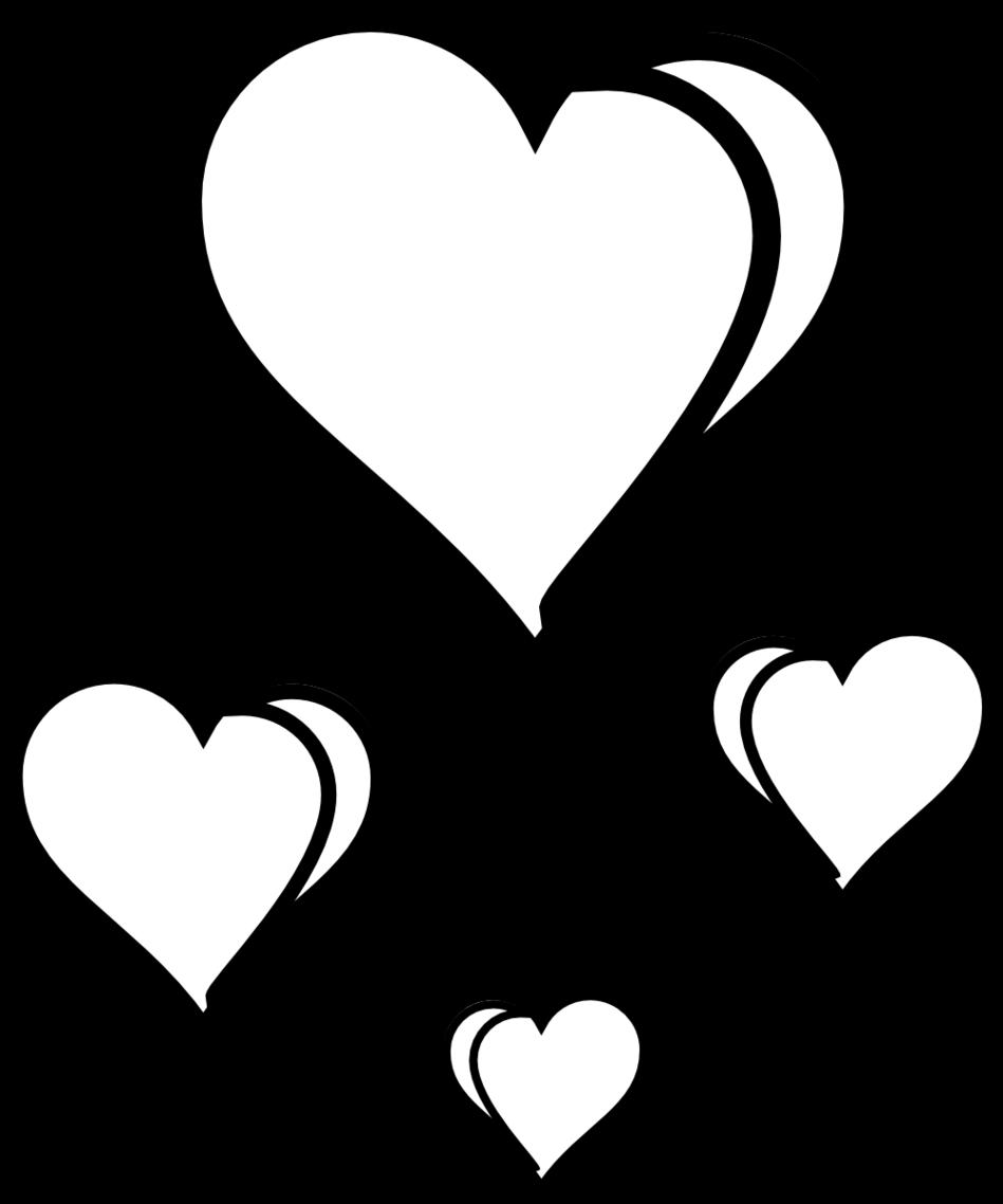 Heart Line Art Design : Line drawing heart clipart best