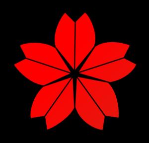 Cherry blossom crest clipart free clip art images - Cherry Blossom Crest Clip Art Vector Clip Art Online