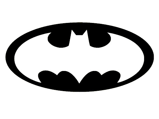 Batman Logo Stencil Template Printable
