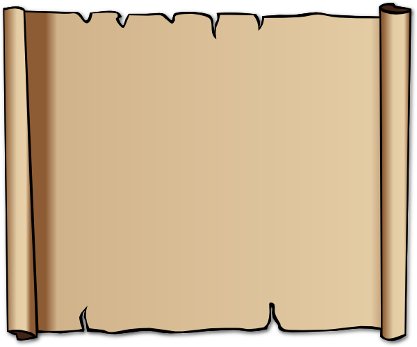 Blank Scroll Template - ClipArt Best