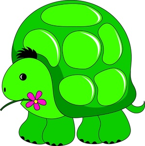Cartoon Turtle Clipart Image Cute Cartoon Turtle