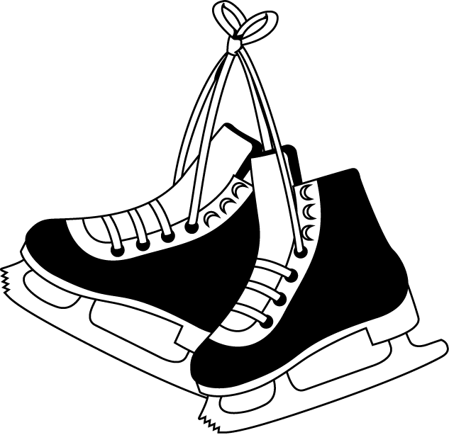 Ice Skates Clip Art Clip Art · Ice Skating
