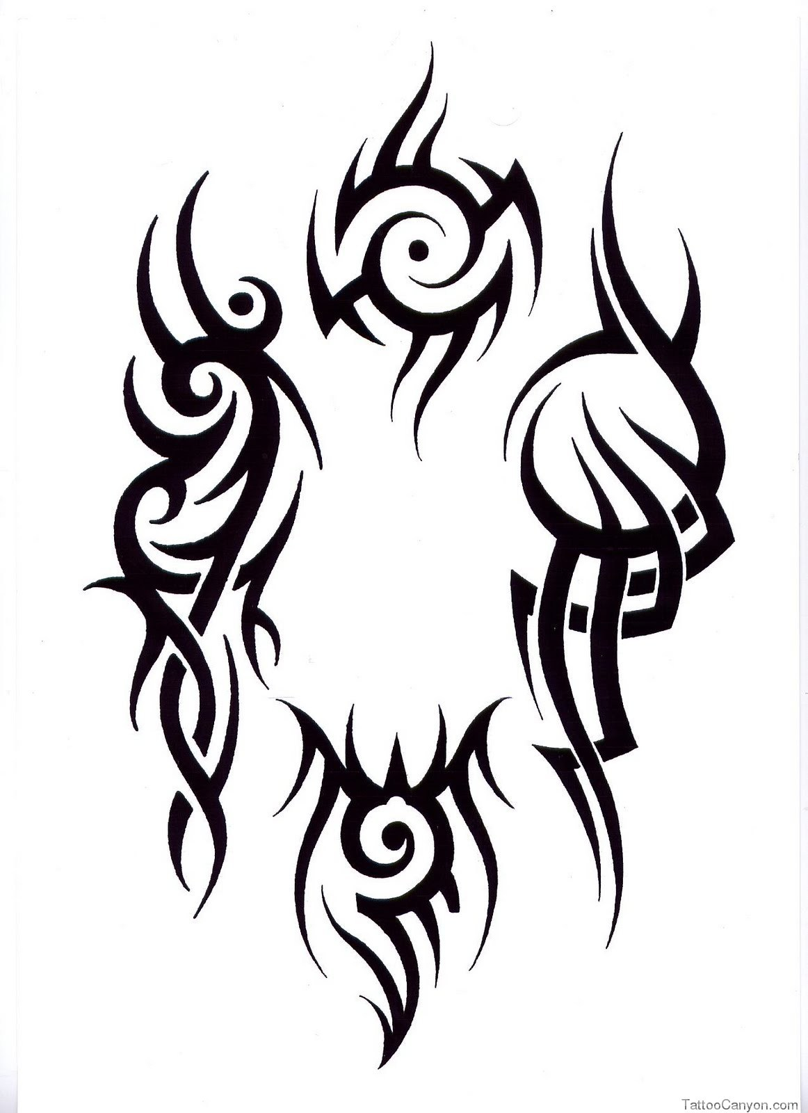 tribal grim reaper tattoo designs clipart best. Black Bedroom Furniture Sets. Home Design Ideas