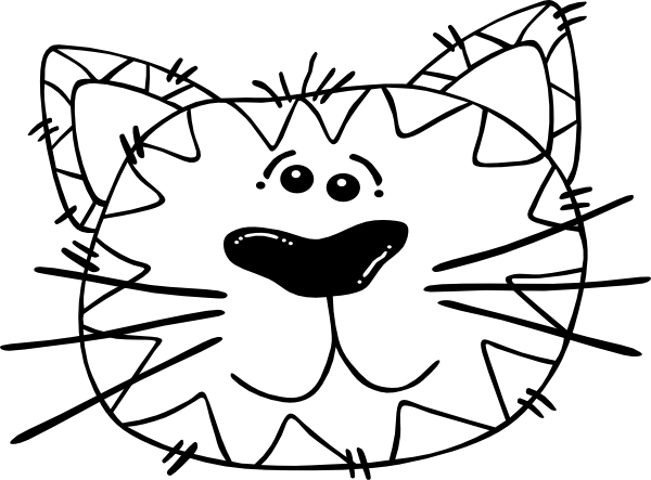 Tiger Face Coloring Page