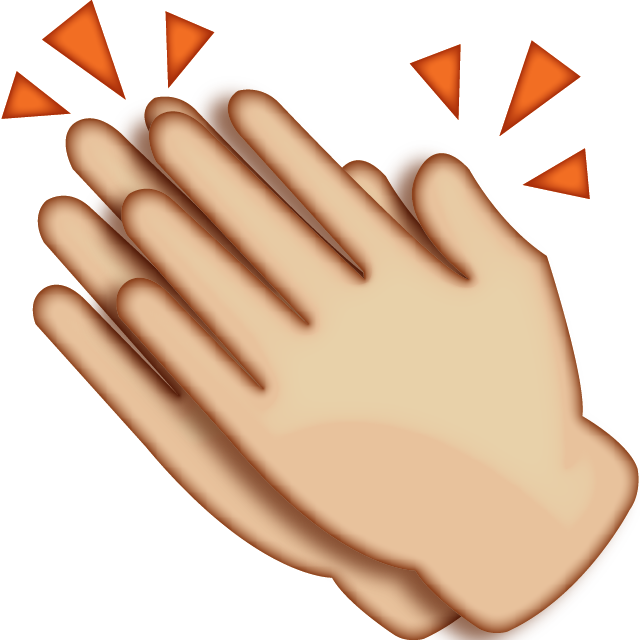 clapping hands together clipart best clapping clipart gif clapping clip art emoji