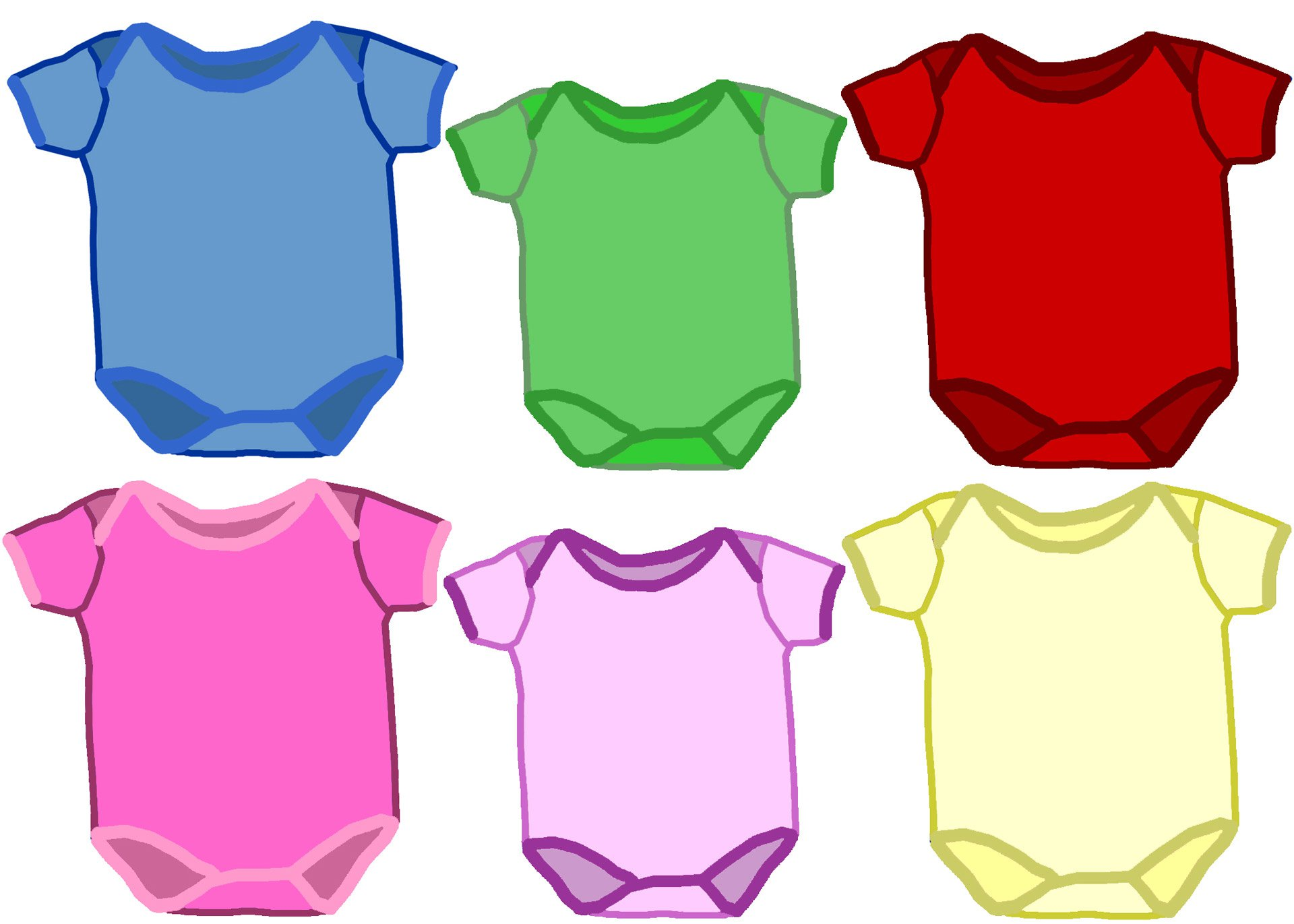 baby onesies clipart best