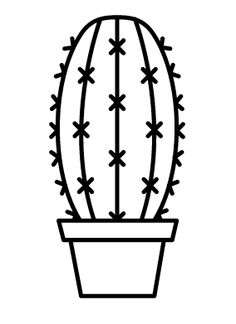 Cactus Drawing ClipArt Best