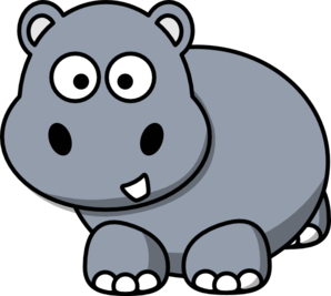 Vector Graphics Hippo - ClipArt Best