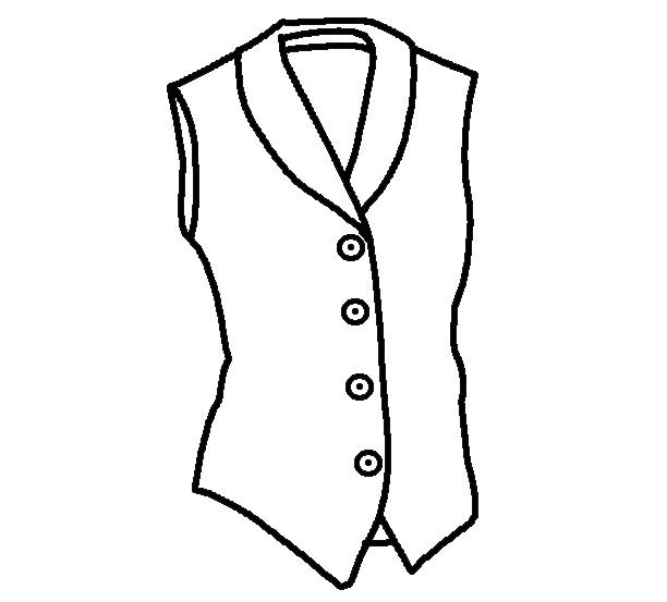 Coloring Pages Clothing: Clothes Colouring Pages
