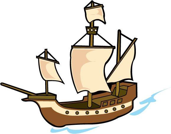 Cartoon Pirate Ships