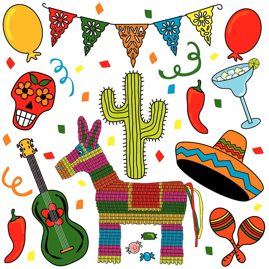 Displaying Images For Mexican Birthday Party Clip Art