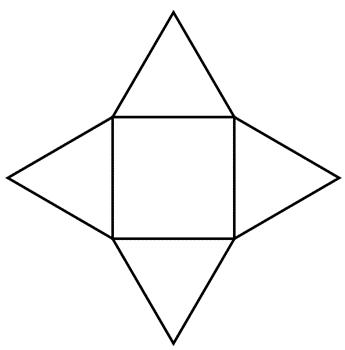 Printable Cube Net - ClipArt Best