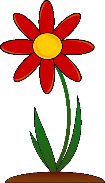Red Flower clip art Free Vector - ClipArt Best - ClipArt Best