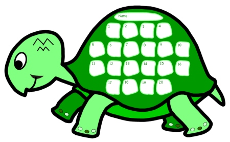 Turtle Sticker Charts: Incentive charts with unique templates and ...