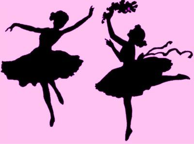 Items similar to Dancing Girl Stencil Print on Etsy |Pretty Girl Dance Stencil