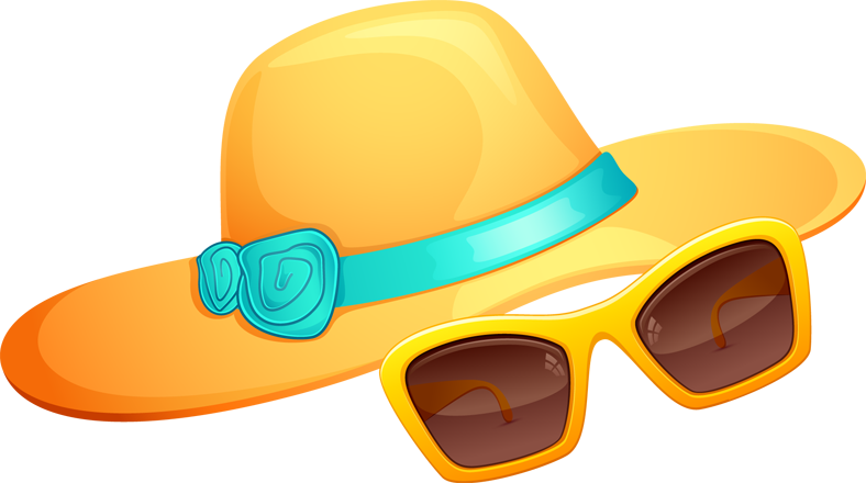 Sunglasses Hat  hat and sunglasses clipart best clipart best