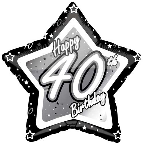 Happy 40th Birthday Images - ClipArt Best