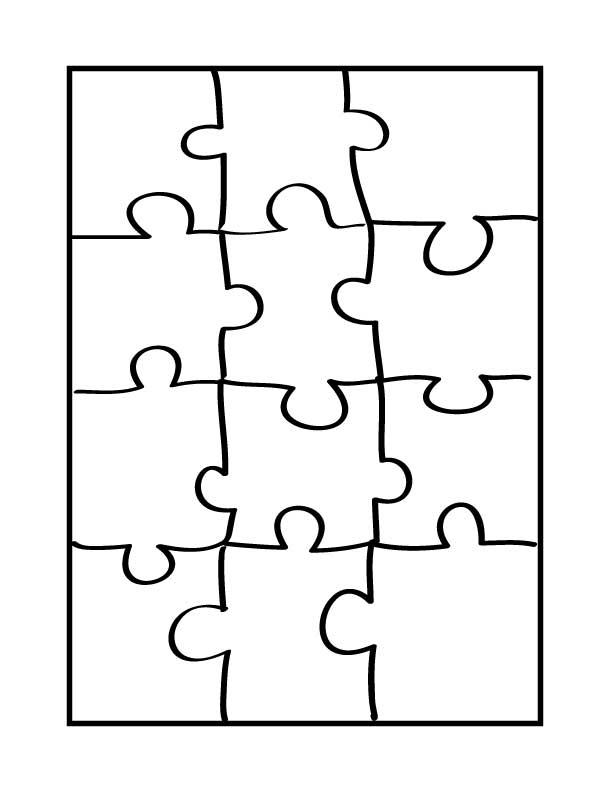 Blank Puzzle Pieces - ClipArt Best