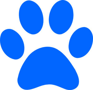 Best Photos of Blue Dog Paw Print - Dog Paw Print Logo, Blue Paw ...