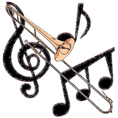 Cartoon Trombone Trombone Images...