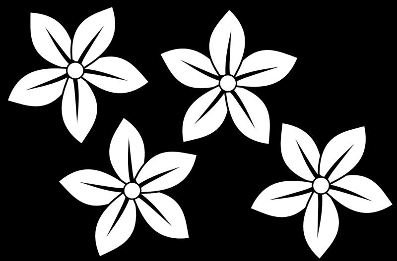 Flower Draw Clipart Best