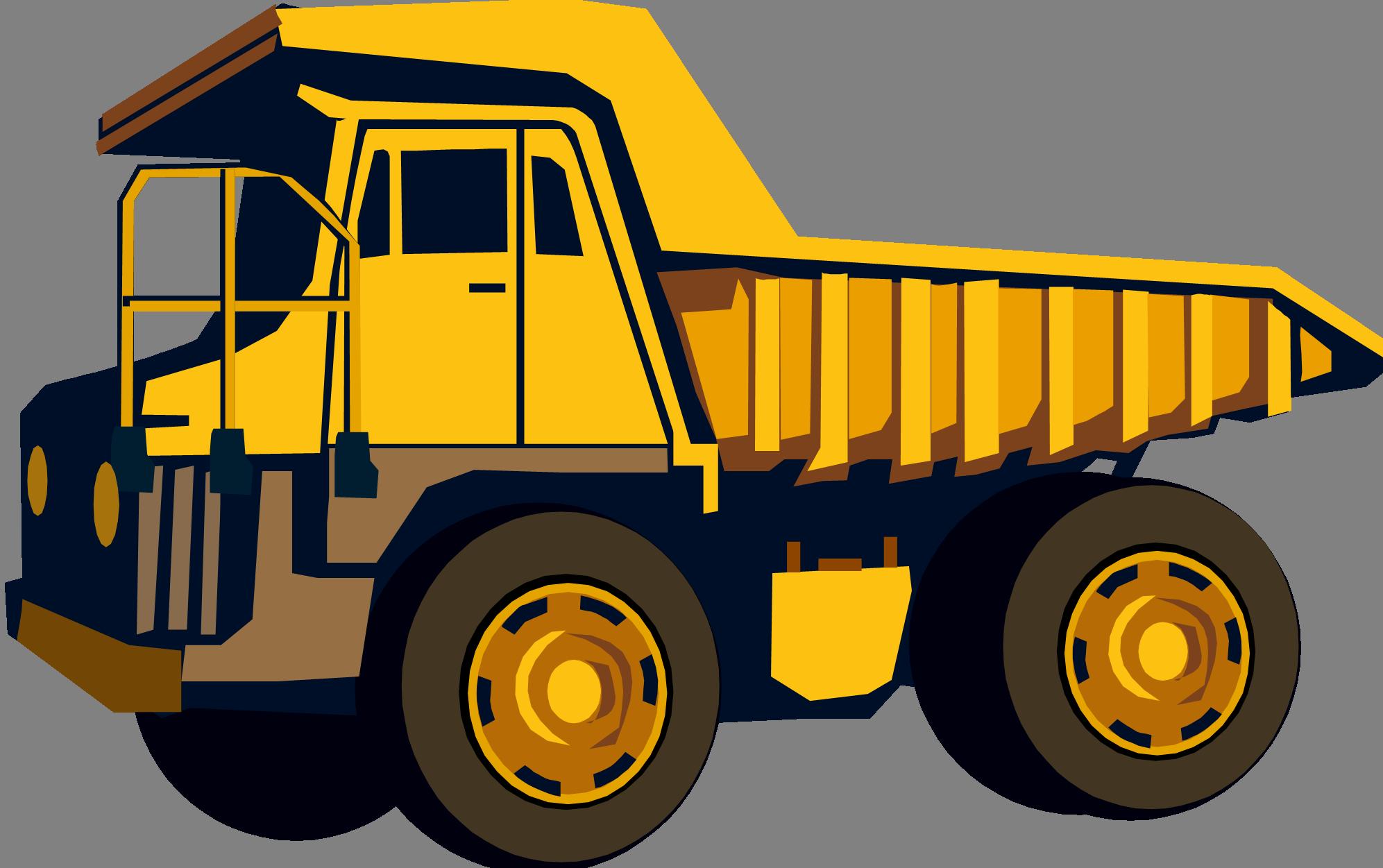 yellow truck clipart - photo #12