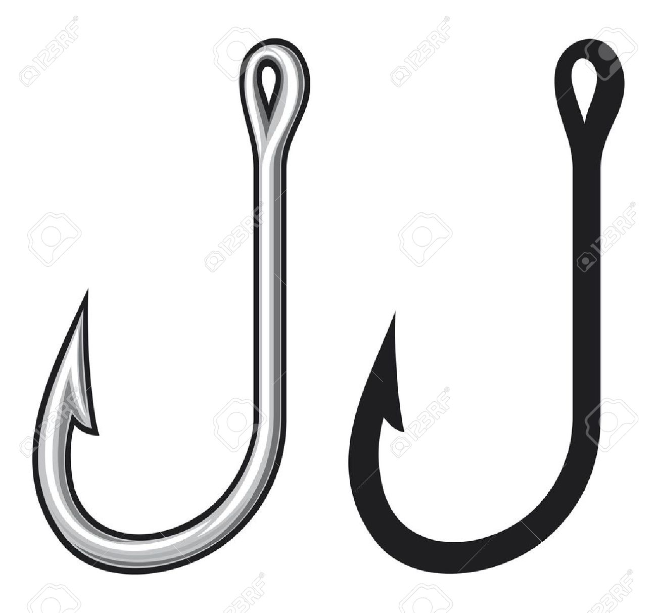 Fish hook clip art clipart best for Best fishing hooks