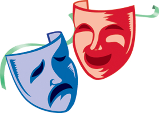 Colorful Theatre Masks - ClipArt Best