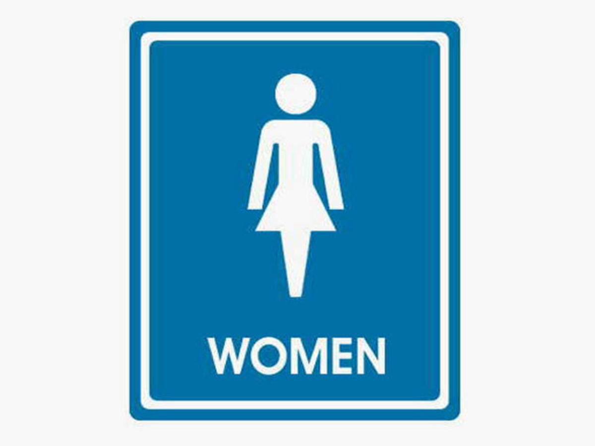 Bathroom signs for women clipart best for Bathroom photos of ladies