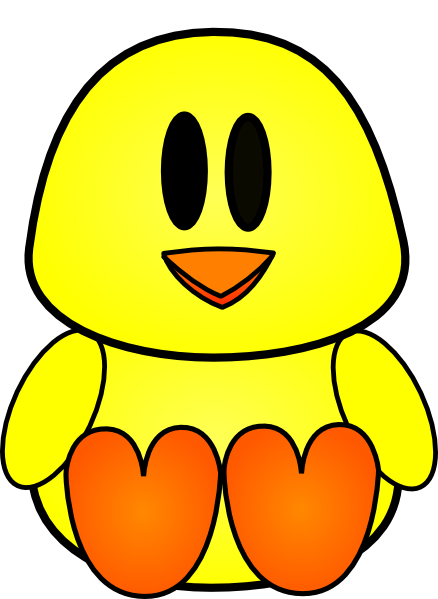 Baby Chick Clipart