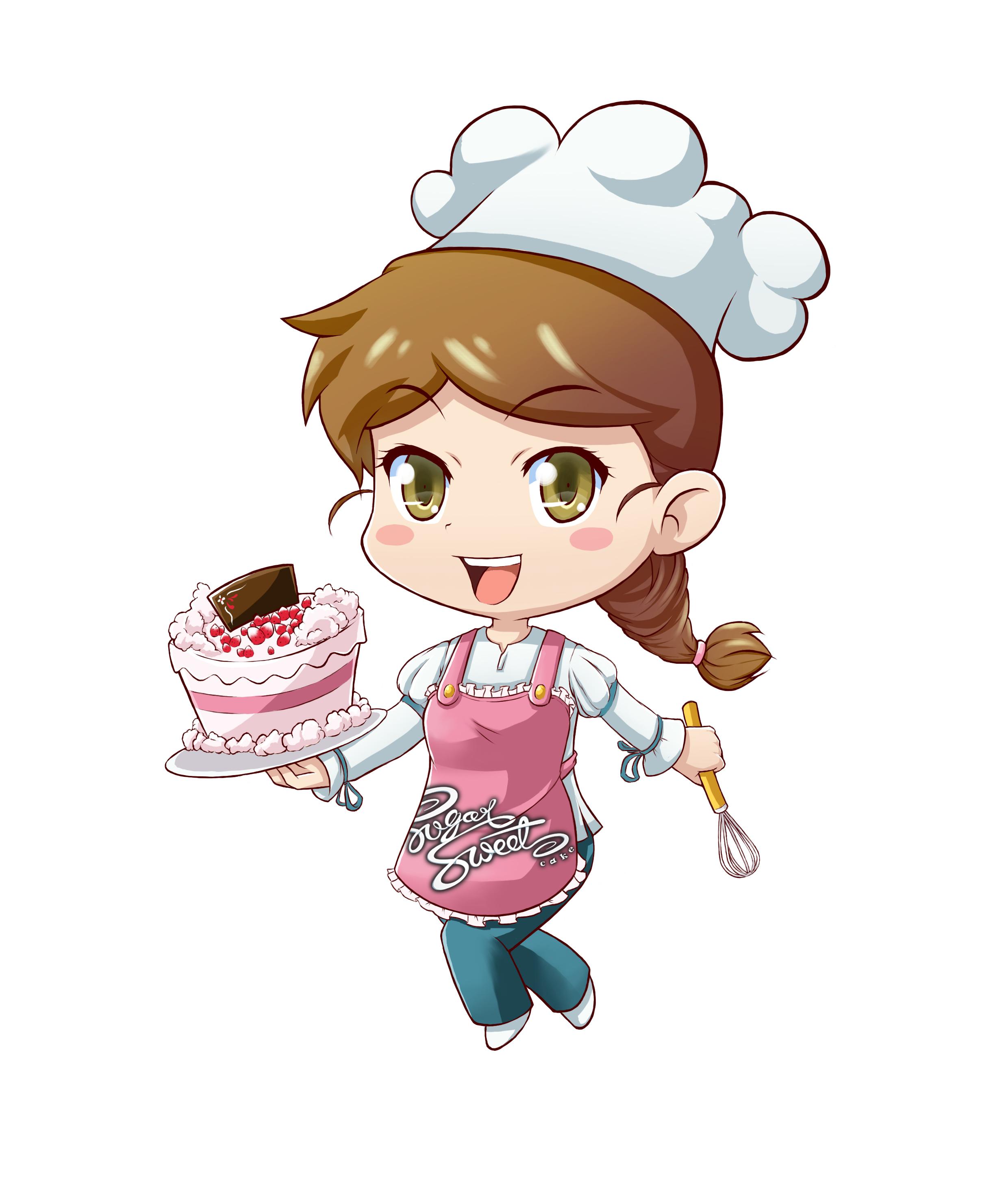 gambar kartun koki atau chef clipart best