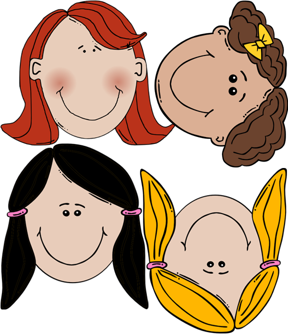Girl Face Template For Kids - ClipArt Best