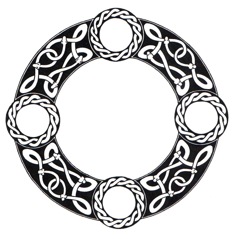 Celtic Circle Vector - ClipArt Best