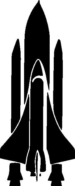 clip art of space shuttle - photo #38