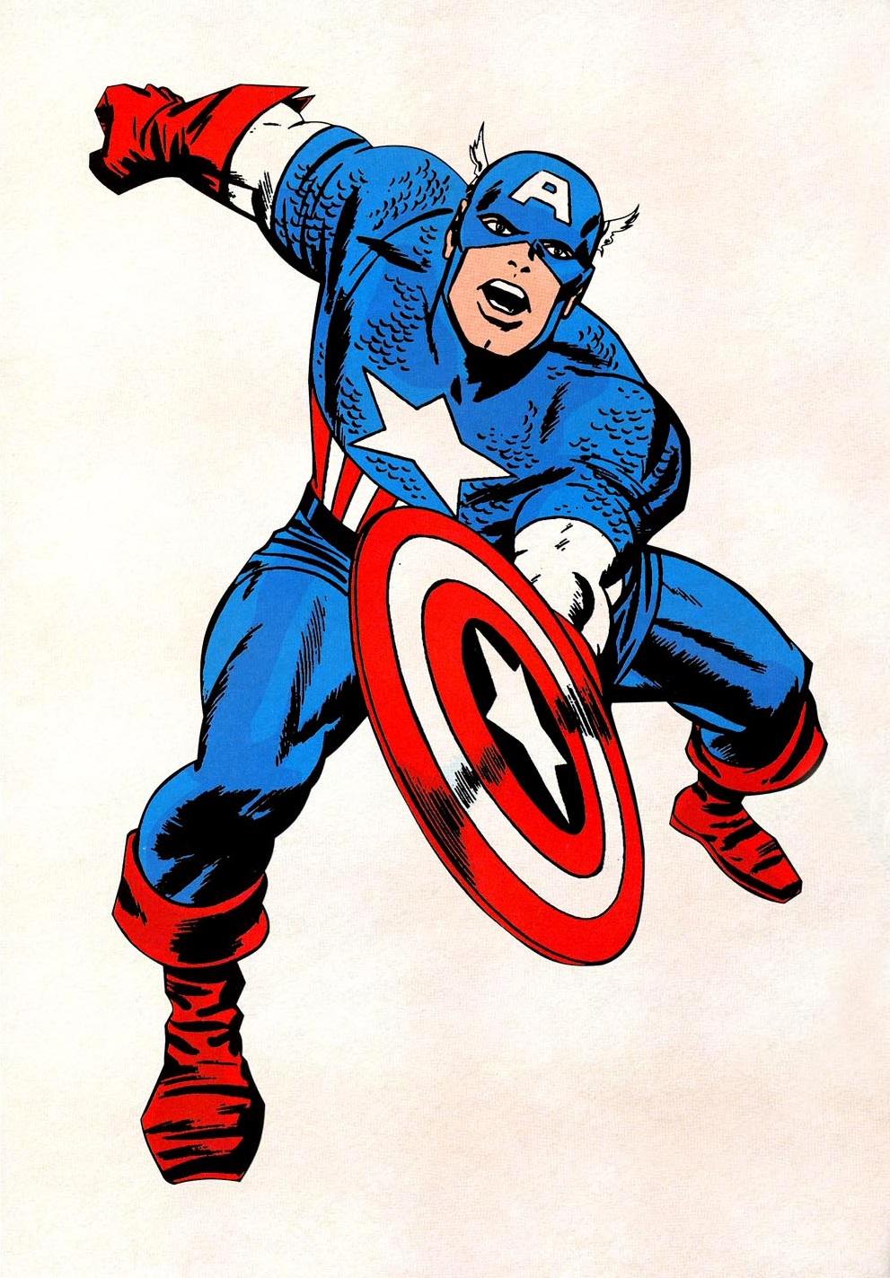 Captain America Comics - ClipArt Best