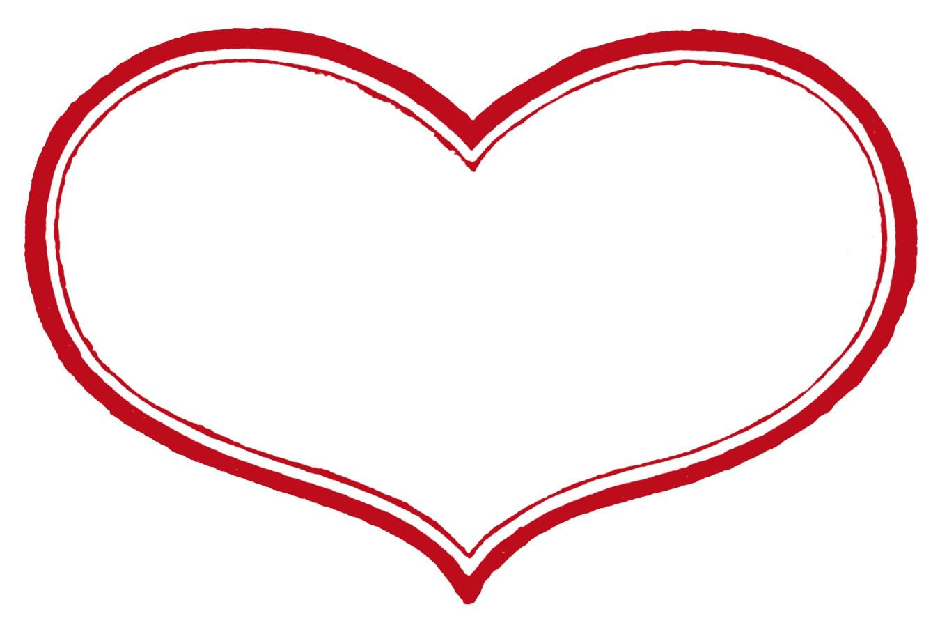 free clipart heart template - photo #49