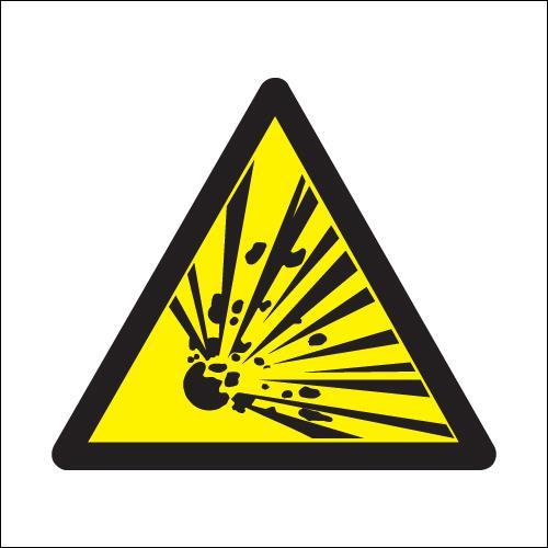 explosive hazard symbols signs clipart best clipart best