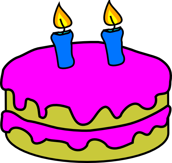 Cake Designs Clip Art : Cartoon Birthday Candles - ClipArt Best
