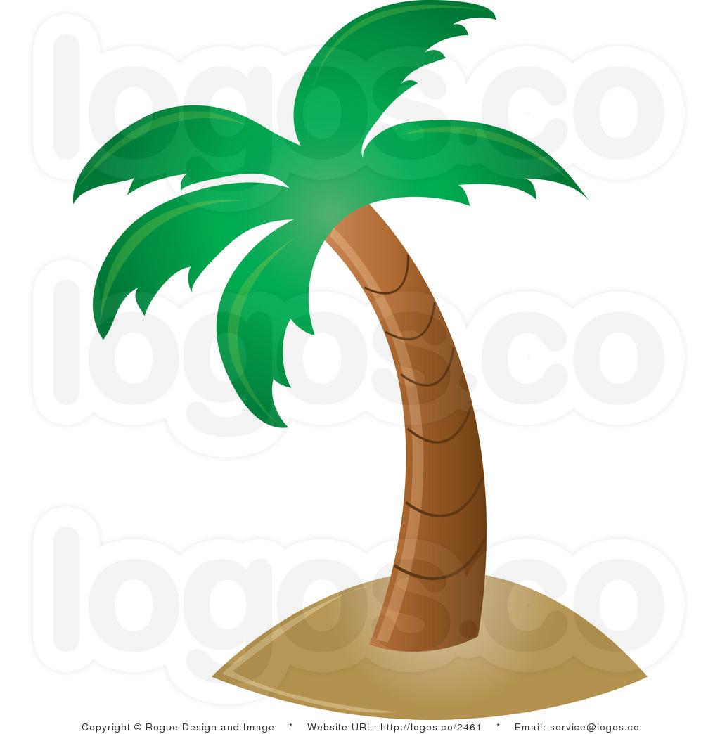 palm tree beach clipart - photo #37