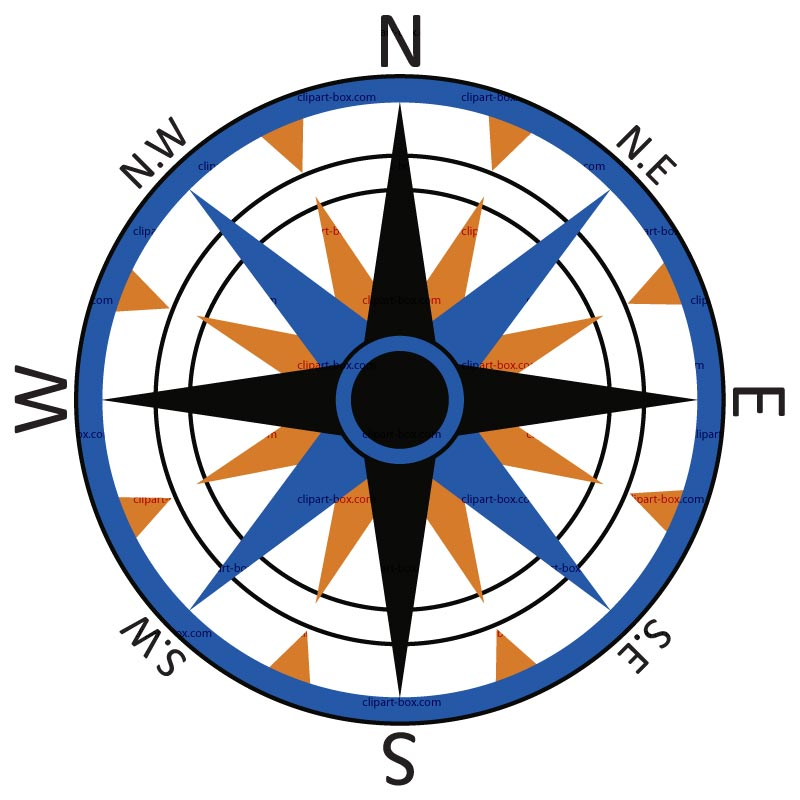 North Compass Clipart Best
