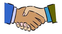 Shaking Hands Cartoon - ClipArt Best