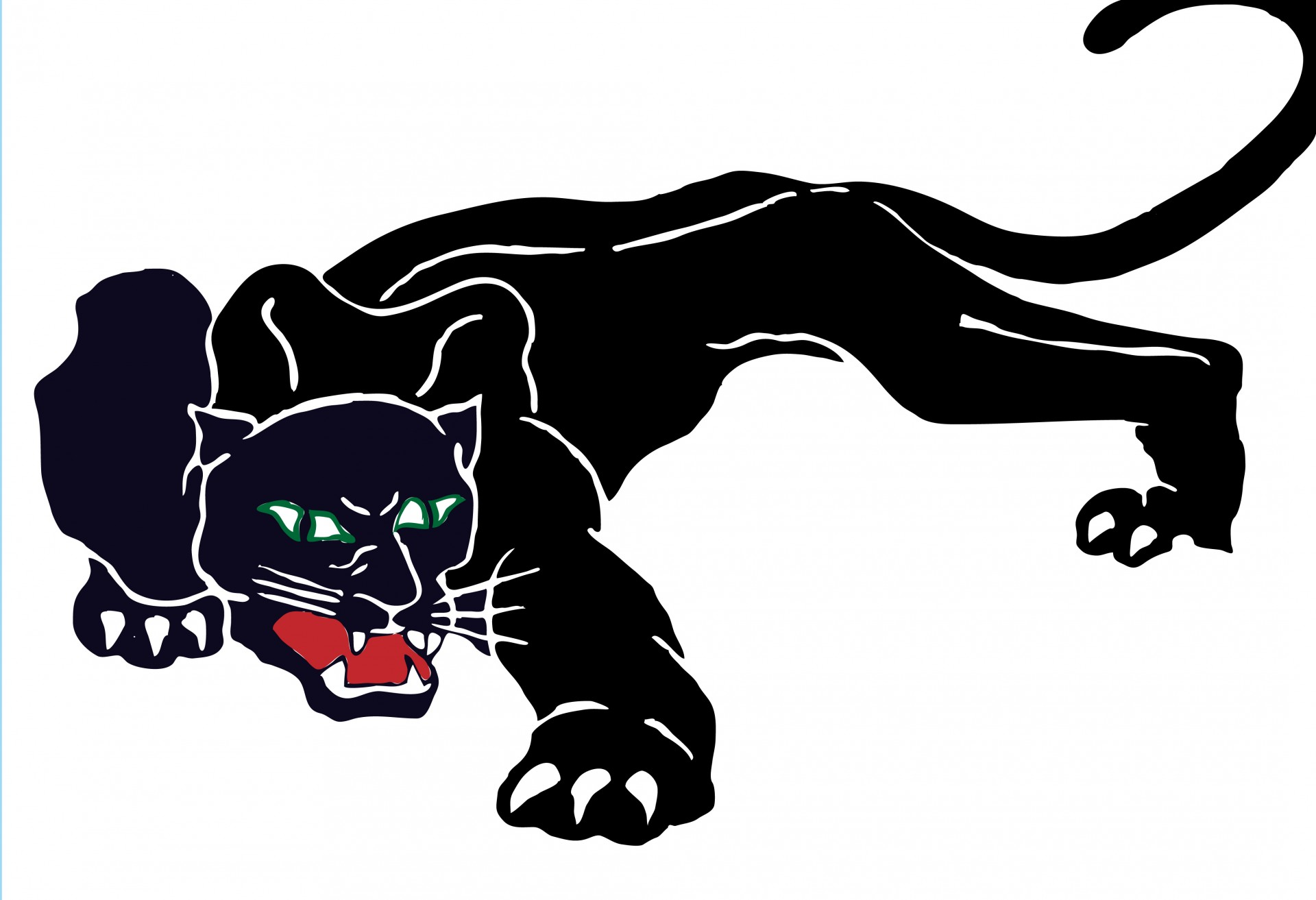 Black Panther Logo - ClipArt Best