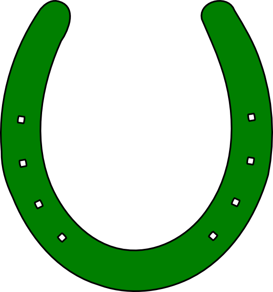 Double horseshoe template - photo#18