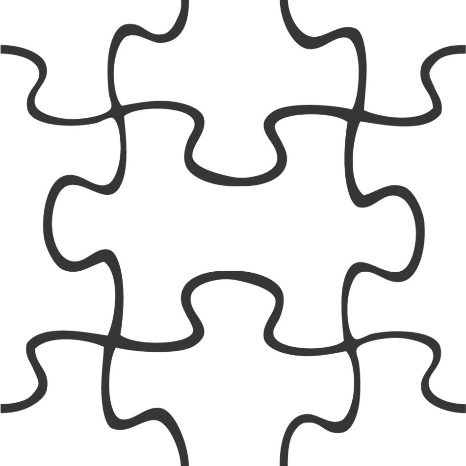 Puzzle Pieces Template Free Clipart - Free to use Clip Art Resource