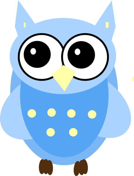 Baby shower clipart boy owl - ClipartFox