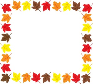 Borders thanksgiving border clipart free clipart images clipartcow ...